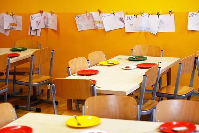 jídelna mateřské školy